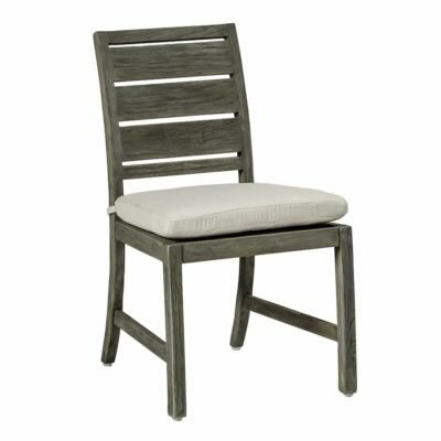Charleston Teak Patio Dining Chair with Cushion by Summer Classics