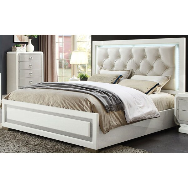 Guion Upholstered Standard Bed by Everly Quinn