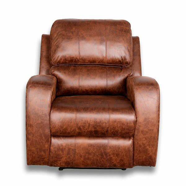 Joe Power Rocker Recliner by Alcott Hill