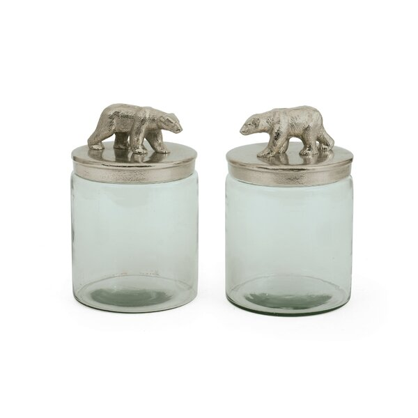 Kitchen Canister (Set of 2) by Loon Peak