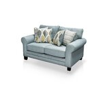 Azula Upholstered Loveseat by Hokku Designs