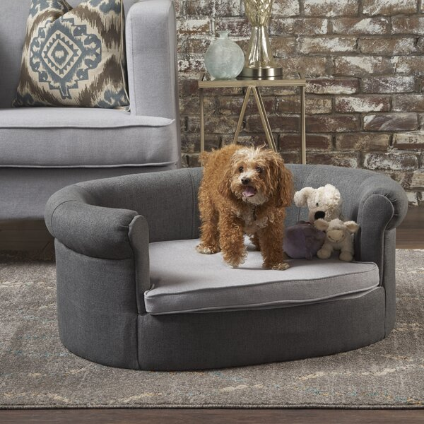 Valorie Fabric Dog Sofa by Tucker Murphy Pet
