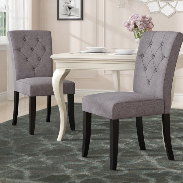 Keiper Upholstered Dining Chair (Set Of 2) By Willa Arlo Interiors Willa Arlo Interiors
