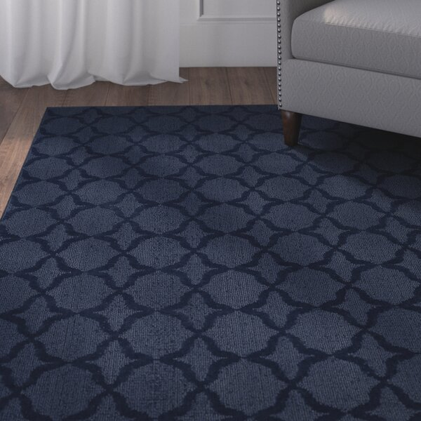 Southington Navy Area Rug by Charlton Home