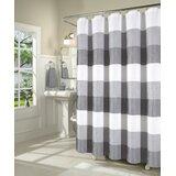 Mauldin Waffle Weave Fabric Single Shower Curtain by August Grove