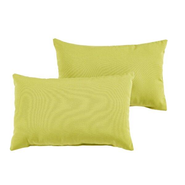 Keila Indoor/Outdoor Lumbar Pillow (Set of 2) by Bayou Breeze