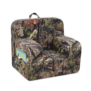Price Check Mason Grab-n-Go Kids Foam Chair with Handle and 2 Pockets By Mossy Oak Nativ Living