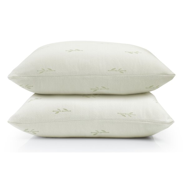 Riley Premium Rayon Pillow Protectors (Set of 2) by Home Fashion Designs
