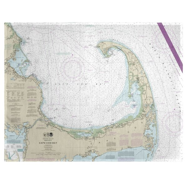 Cape Cod Bay, MA 18 Placemat (Set of 4) by East Urban Home