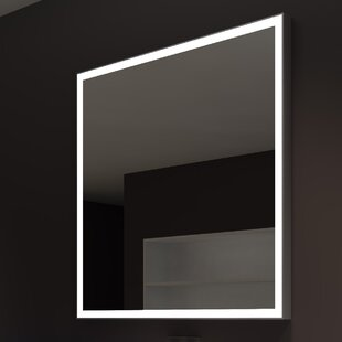 Searching for Kristian Square Illuminated Bathroom/Vanity Wall Mirror ByOrren Ellis