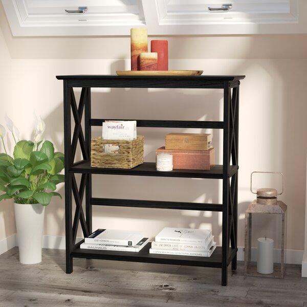 Warrington Etagere Bookcase by Charlton Home