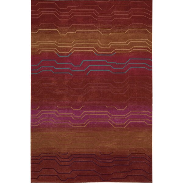 Newbury Hand-Tufted Sunburst Area Rug by Ivy Bronx