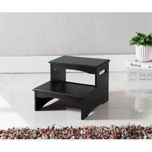 2-Step Manufactured Wood Step Stool by InRoom Designs