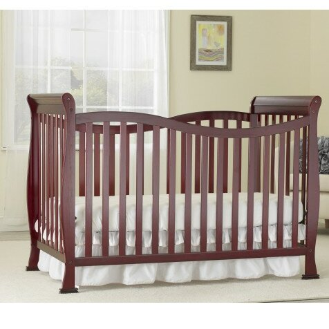Jessica Big Oshi 7-in-1 Convertible Crib by Baby Time International, Inc.