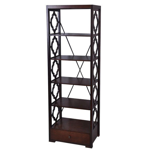 Pembroke Etagere Bookcase by Crestview Collection