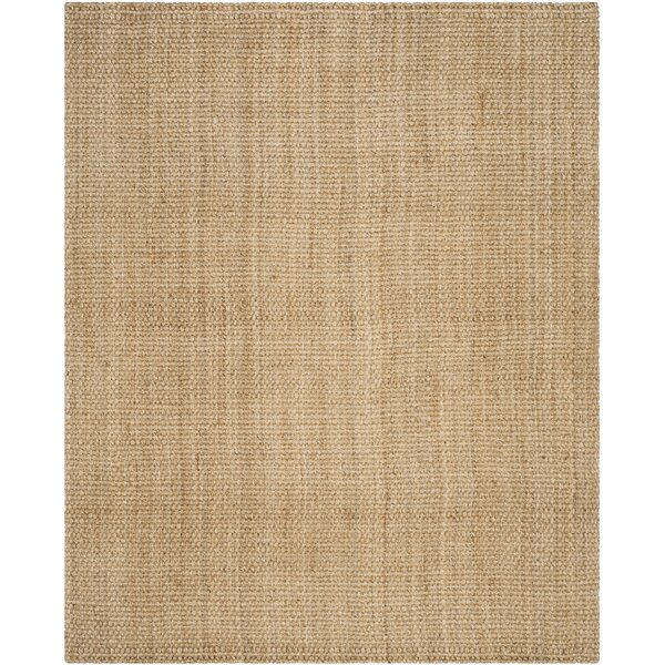 Addilyn Hand-Woven Natural Area Rug by Highland Dunes