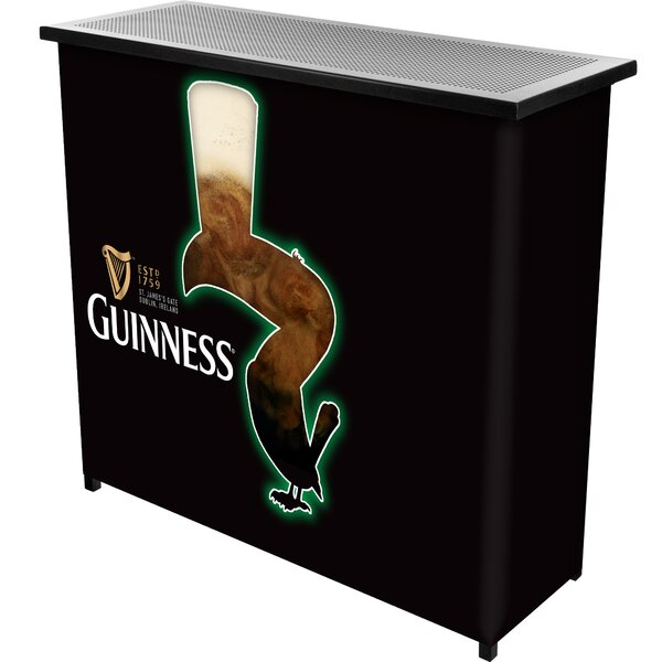 Guinness Feathering Portable Home Bar by Trademark Global