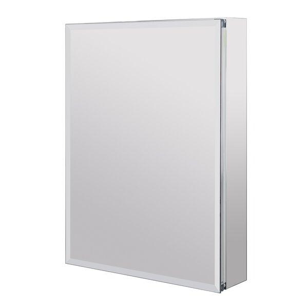 Surface mount Framed Medicine Cabinet 3 Adjustable Shelves