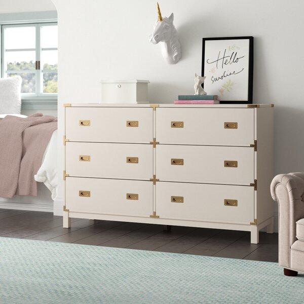 Arnulfo 6 Drawer Double Dresser By Willa Arlo Interiors by Willa Arlo Interiors #2