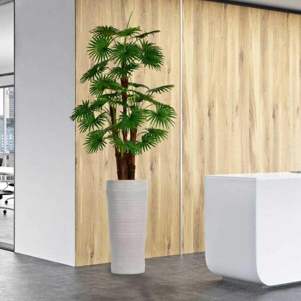 Artificial Indoor/Outdoor Décor Floor Palm Tree in Planter by Corrigan Studio