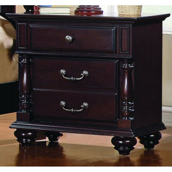 Febus Spacious 3 Drawer Nightstand by Darby Home Co Darby Home Co
