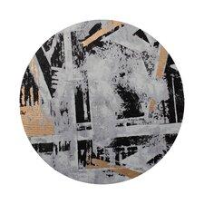Canvas Contemporary Round Wall Décor