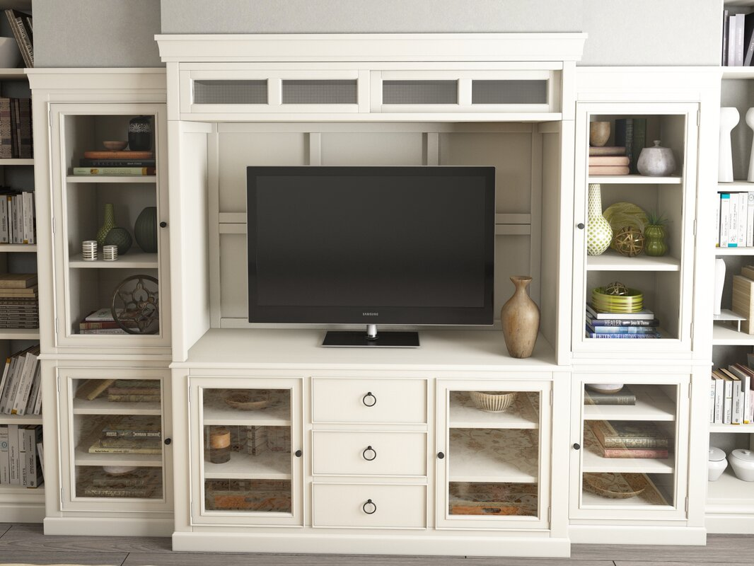 Canora Grey Causey Park Entertainment Center & Reviews