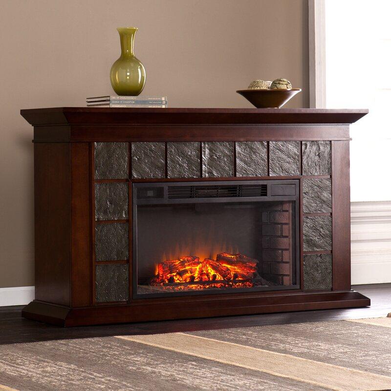 Wildon Home ® Newport Electric Fireplace & Reviews   Wayfair