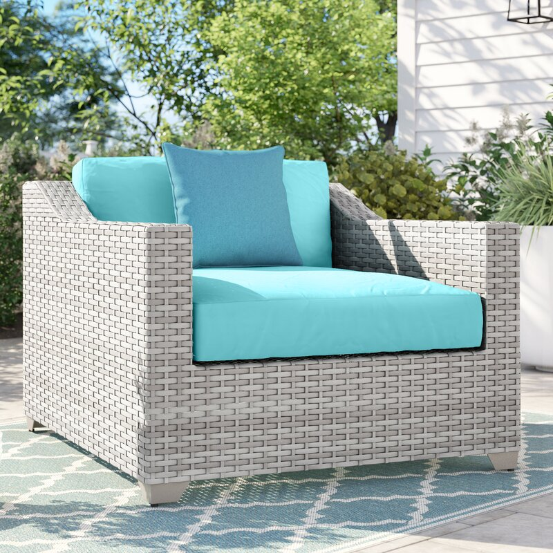 Sol 72 Outdoor™ Falmouth Patio Chair with Cushions & Reviews