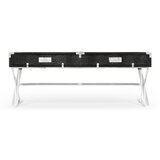 Campaign Coffee Table with Storage by Jonathan Charles Fine Furniture
