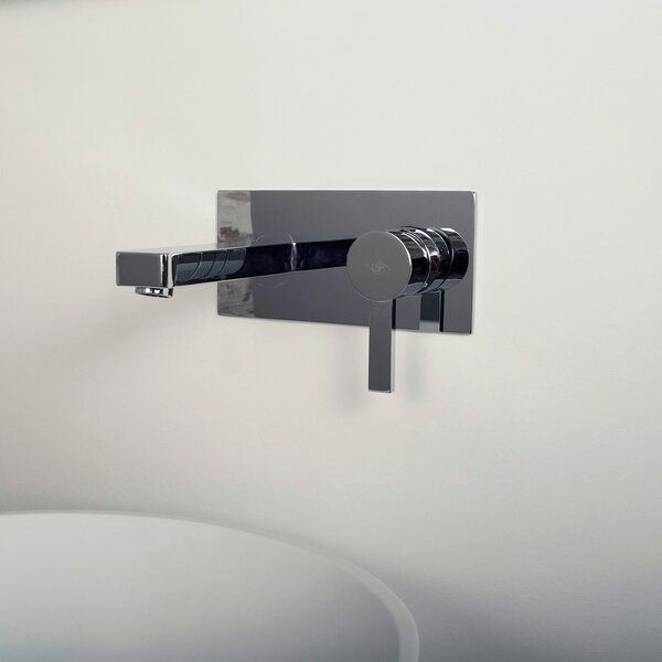 Handle Wall Mounted Bathroom Faucet by DAX DAX