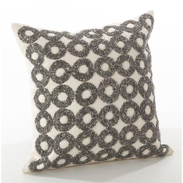 Seren Cotton Throw Pillow by Saro