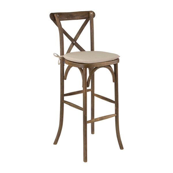 Mcdonald 29.75 Bar Stool by Gracie Oaks