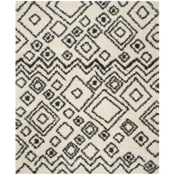Malibu Ivory/Charcoal Area Rug by Trent Austin Design