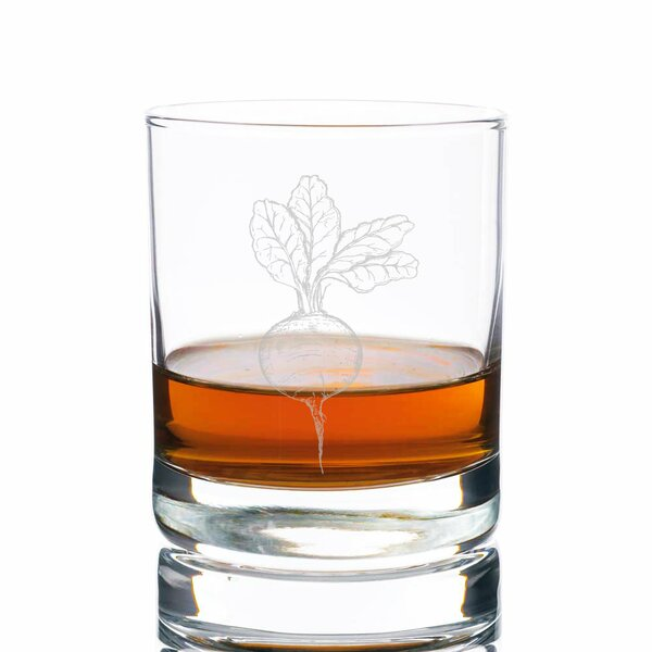 Sonora Beets Rocks 10 oz. Glass Every Day Glass by Gracie Oaks