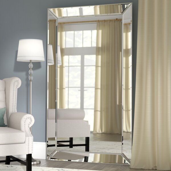 Primm Antique Floor Full Length Mirror by Willa Arlo Interiors