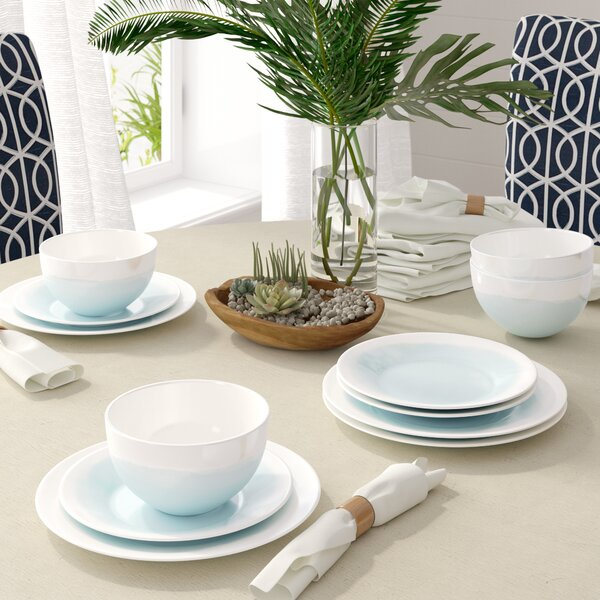 12 Piece Dinnerware Set, Service for 4 by Langley Street