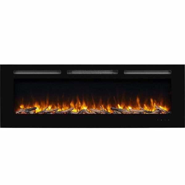 Iserman Wall Mounted Electric Fireplace Insert by Orren Ellis