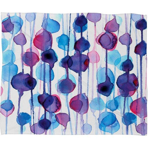 CMYKaren Throw Blanket by Deny Designs