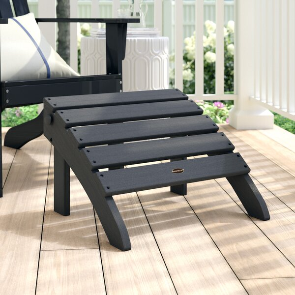 Classic Adirondack Outdoor Ottoman by POLYWOOD®