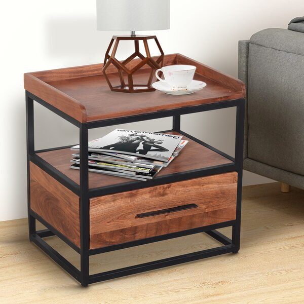 Cherelle Frame End Table with Storage by Union Rustic Union Rustic