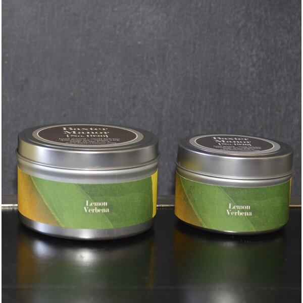 Artisan Lemon Verbena Jar Candle by Baxter Manor