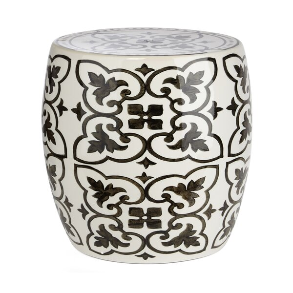 Whitehill Gertrude Garden Stool by House of Hampton