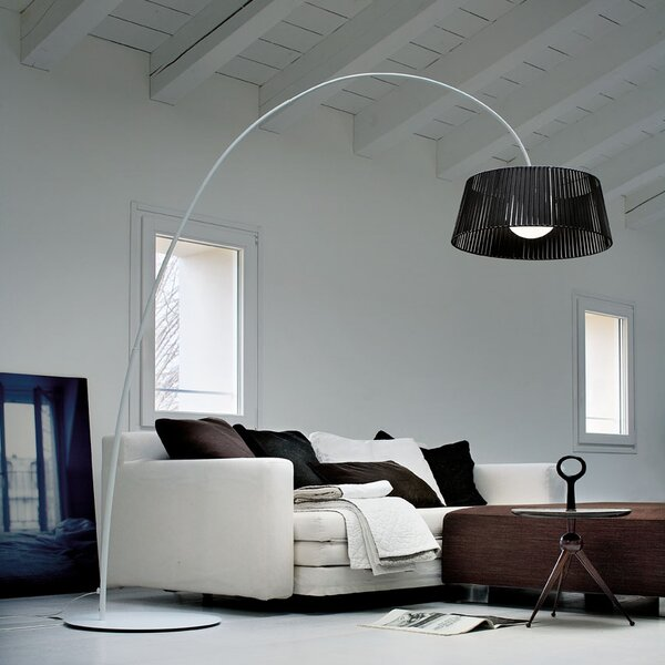 Ribbon 84 Arched Floor Lamp by Morosini