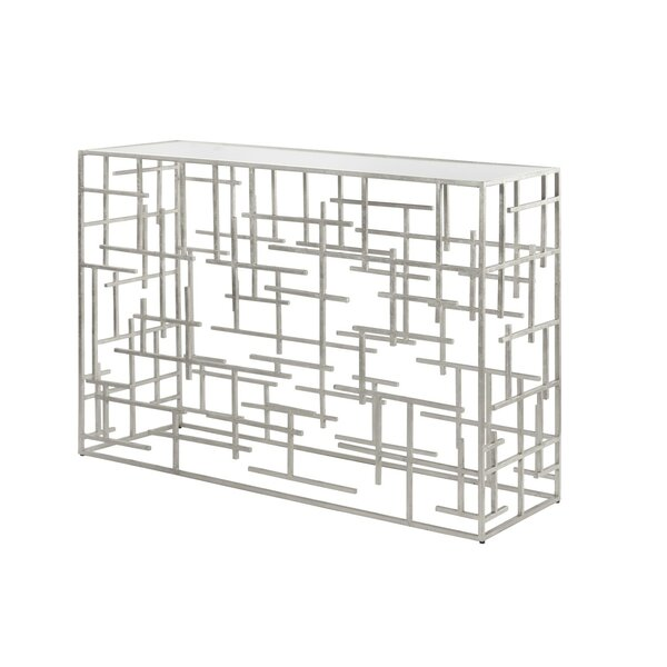 Abstract Console Table by Worlds Away
