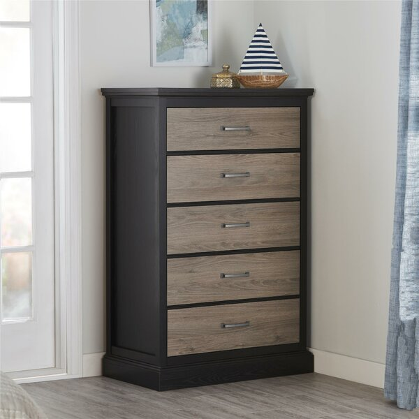 Fortuna 5 Drawer Accent Chest by Andover Mills