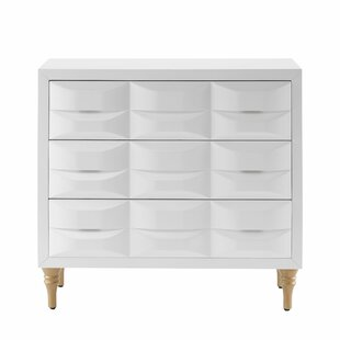 Shop For Hadassah 3 Drawer Accent Chest By Everly Quinn