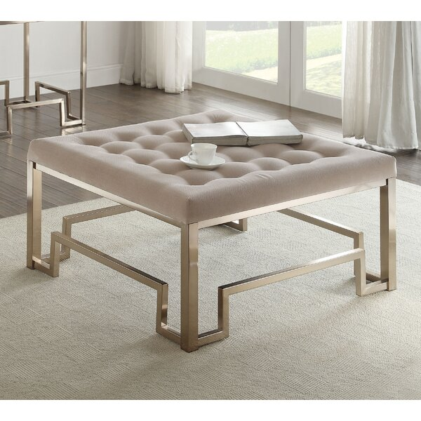 Cullompt Fabric Coffee Table By Everly Quinn