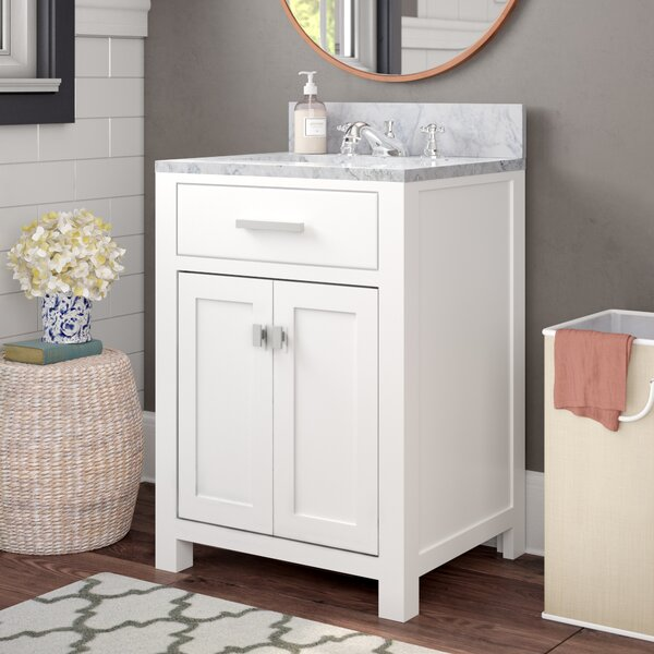 Raven 24 Single Bathroom Vanity Set by Andover MillsRaven 24 Single Bathroom Vanity Set by Andover Mills