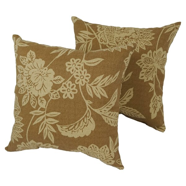 Kaminsky Outdoor Throw Pillow (Set of 2) by Alcott Hill